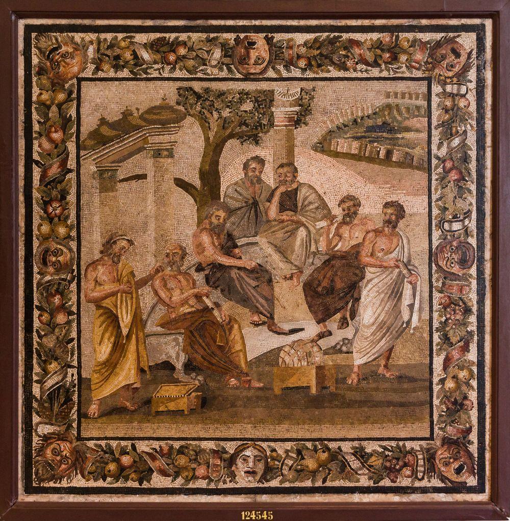 Plato's Academy mosaic